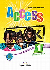 Access 1: Student's Pack: Student's Book and Grammar Book, Greek edition, Dooley, Jenny, Express Publishing, 2008