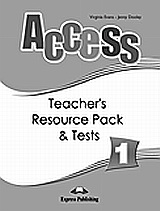 Access 1: Teacher's Resource Pack and Tests, , Evans, Virginia, Express Publishing, 2008
