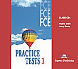 FCE Practice Tests 1: Class Audio CDs, Set of 3, Evans, Virginia, Express Publishing, 2010