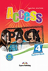 Access 4: Student's Pack: Student's Book and Grammar Book, Greek edition, Evans, Virginia, Express Publishing, 2008
