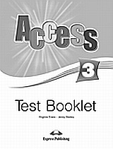 Access 3: Test Booklet, , Evans, Virginia, Express Publishing, 2008