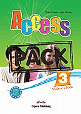 Access 3: Student's Pack: Student's Book and Grammar Book, Greek edition, Evans, Virginia, Express Publishing, 2008