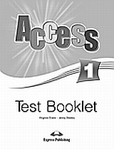Access 1: Test Booklet, , Evans, Virginia, Express Publishing, 2008