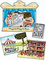 Fairyland Junior A: Puppet Show Pack, Theatre, Back Drops and Plays, Dooley, Jenny, Express Publishing, 2010