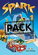 Spark 1: Student's Book Pack, (+ multi-ROM PAL), Evans, Virginia, Express Publishing, 2010