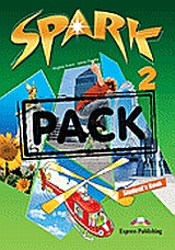 Spark 2: Student's Book Pack, (+ multi-ROM PAL), Evans, Virginia, Express Publishing, 2010