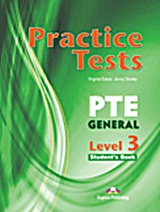 Practice Test PTE General Level 3: Student's Book, , Evans, Virginia, Express Publishing, 2011