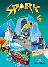 Spark 4 (Monstertrackers): Class Audio CDs, set of 4, Evans, Virginia, Express Publishing, 2011