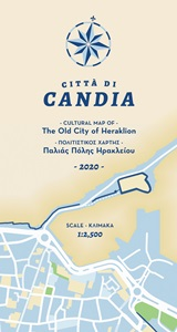 Citta di Candia: A Cultural Map of the Old City of Heraklion, , , Staridas Geography, 2020